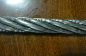 Galvanized Steel Wire Cable Compacted 6xk26sw Dry Type pictures & photos