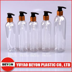 275ml Round Plastic Pet Bottle with Pump Sprayer (ZY01-B032) pictures & photos