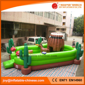 Animal Inflatable Jumping Castle Fun City (T6-411) pictures & photos