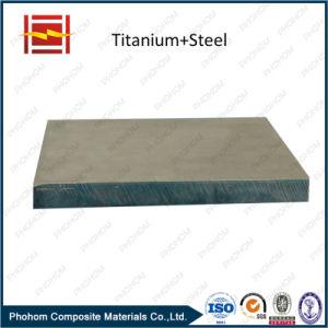 Titanium Alloy Bimetal Plate / Explosive Welding Titanium Materials pictures & photos