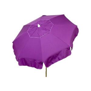 Italian 6′ Beach Sun Umbrella W/Beach Pole in Choice of Color