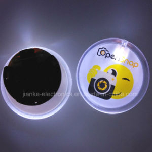 2017 Christmas Gifts LED Blinking Badge with Logo Available (3569) pictures & photos