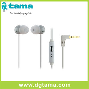 3.5mm Black White Colors in-Ear Stereo Earphone for iPhone Samsung pictures & photos