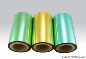 Colored Metallized Polyester Film 12 Mic pictures & photos