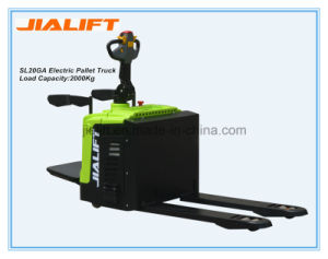 China 2ton Electric Pallet Truck (SL20GA) with High Quality pictures & photos