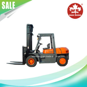 7.0 Ton Diesel Engine Forklift Truck, Ce Approved Forklift with China or Japan Engine pictures & photos