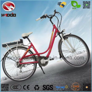 Whalesale Alloy Frame 250W Electric City Road Bike pictures & photos