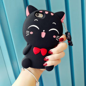 OEM Custom 3D Universal Silicone Phone Case for iPhone 7 pictures & photos