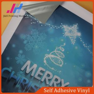 Grey glue Self Adhesive Vinyl Sticker (80Micron 120GSM) pictures & photos