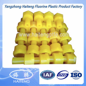 Yellow Color PU Parts Polyurethane Parts pictures & photos