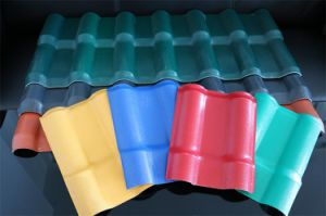 ASA Composite 30 Years Guarantee Plastic PVC Roofing Tile pictures & photos