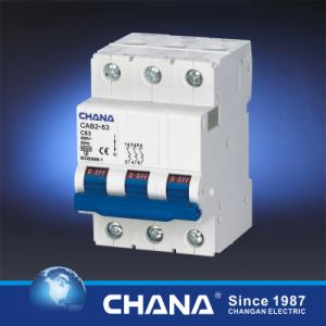 6ka 63A Mini Circuit Breaker with CB Ce TUV Approvals pictures & photos