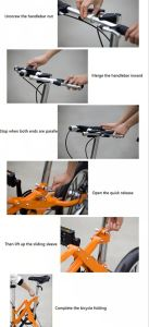 Fashionable 16inch Adult Mini Folding Bike pictures & photos