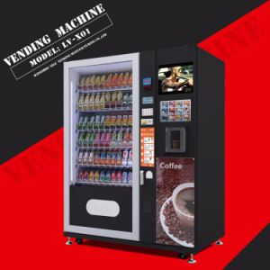 Drink/Snack and Coffee Combo Vending Machine LV-X01 pictures & photos