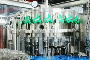 Carbonated Drinks/Beer Glass Bottled Aluminum Caps Filling Equipment pictures & photos