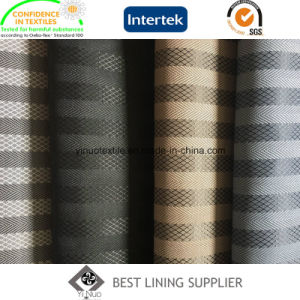 100 Polyester Winter Coat Lining Fabric Jacquard Lining Supplier pictures & photos
