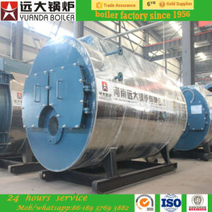 Latest Horizontal 2 Ton Oil/Gas Fired Steam Boiler pictures & photos
