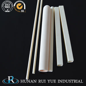 99% Al2O3/99.5% 99.7% High Purity Alumina Ceramic Tube Machining pictures & photos