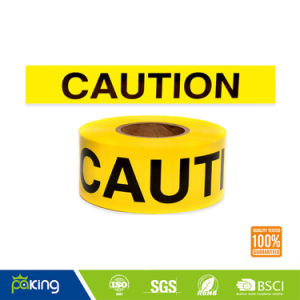 PVC Floor Marking Warning Tape with Yellow and Black Color pictures & photos