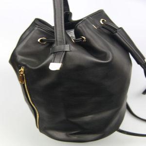 Girls Black Fashion PU Backback Women Fashion PU Handbag pictures & photos