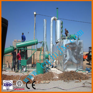 Oil Refinery for Waste Motor Oil Pyrolysis Equipment pictures & photos