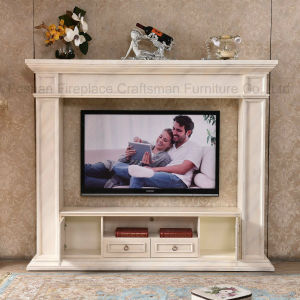 Ce Approved Modern MDF Fireplace TV Stand Home Furniture (346B) pictures & photos