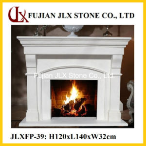 Modern Style Marble Stone Home Fireplace pictures & photos