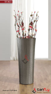 Outdoor Garden PE Rattan Flower Pot Holder
