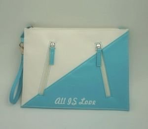 Hot Selling PU Material Flat Pouch pictures & photos