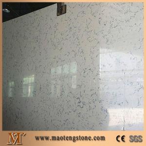 Natural Carrara White Quartz Color Artificial Stone pictures & photos