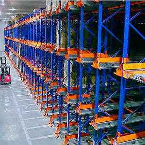 Auto Shuttle Racking System for Frezeed Warehouse pictures & photos