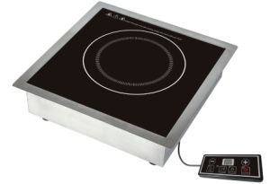 Metal Housing Knob Control Commercial Induction Cooker pictures & photos