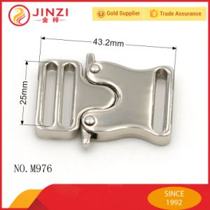 Jinzi Durable High Quality Quick Release Buckle for Bags Belts