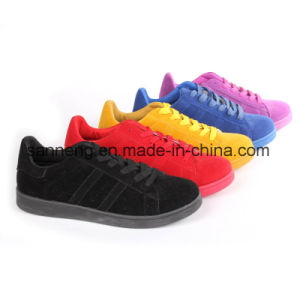 Bright Colorful Casual Shoes / Comfort Shoes Footwear with PVC Outsole (SNC-45046) pictures & photos
