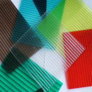 Xinhai Plastic Twin Wall Hollow Polycarbonate Sheet for Construction Building Material pictures & photos