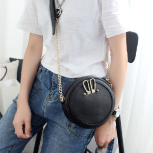 Women Small Round Bag Teen Girl′s Cross Body Bag pictures & photos