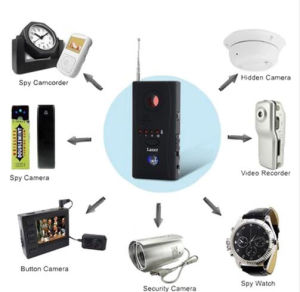 New Cc308+ Multi Function Camera Bug GPS Laser GSM WiFi Full-Range Wireless Handle RF Signal Detector pictures & photos