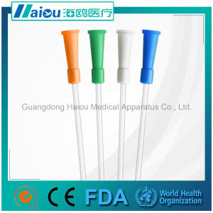 Medical Suction Tube Hos32 with Funnel Connector pictures & photos