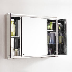 Huge Space Stainless Steel Bathroom Mirror Cabinet 7039 pictures & photos