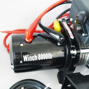 SUV 4X4 Electric Winch Truck Winch for Jeep Winch (8000lb-1) pictures & photos