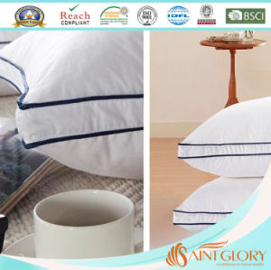 Factory Professional White Gusset Polyester Down Alternative Pillow pictures & photos