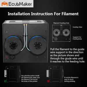 Ecubmaker Fulled Enclosed Metal 3D Printer pictures & photos