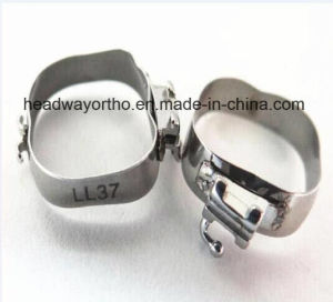 Headway Convertible Buccal Tube Roth Slot. 022 Orthodontic Molar Bands pictures & photos