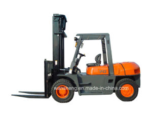 Great Capacity Diesel Forklift Truck 7 Ton pictures & photos