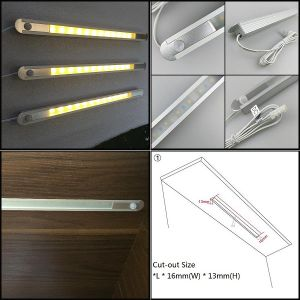 Rigid Recessed LED Strip for Shelving Lighting pictures & photos