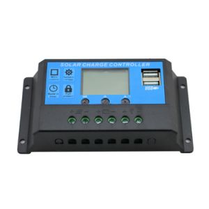 12V/24V 40A Solar Panel Controller/Regulator for Solar Street Light  with Dual USB Light Time Control Cm20k-40A pictures & photos