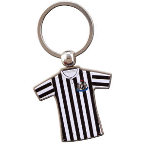 Free Design Zinc Alloy Logo Key Chain with Keyring pictures & photos