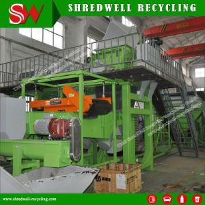 Automatic Waste Tire Recycling Plant for Making Rubber Mulch pictures & photos