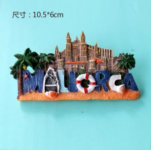 Resin material Make 3D Tourist Spain Country Souvenir Fridge Magnets pictures & photos
