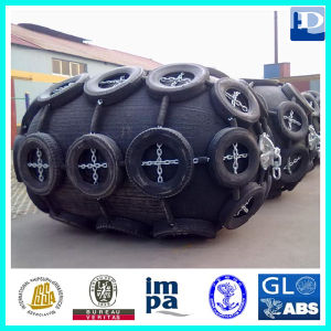 Net Type 50 Kpa Floating Pneumatic Marine Rubber Fender pictures & photos